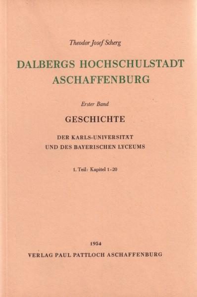 Scherg, Dalbergs Hochschulstadt Aschaffenburg