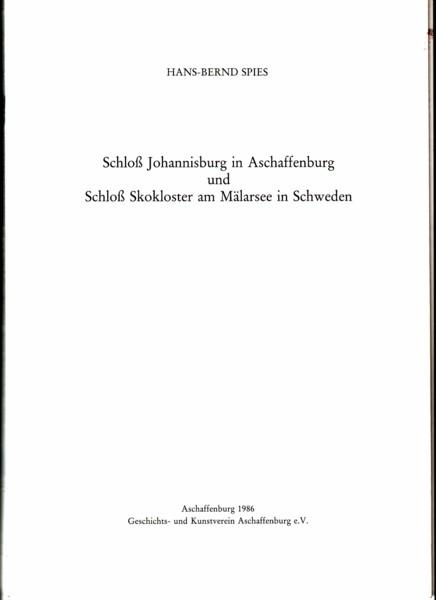 Schloß Johannisburg in Aschaffenburg